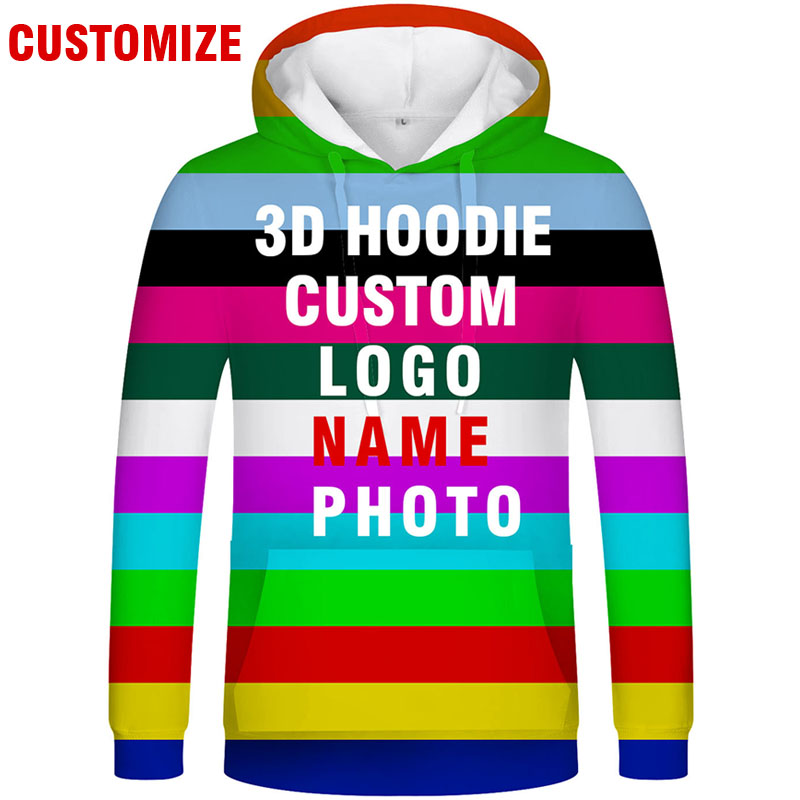 3D HOODIE Free Custom Made Name Number Hooded Logo Text Photo Sweatshirt Flag College Img Team Hoodde Whole Body All Print Coats