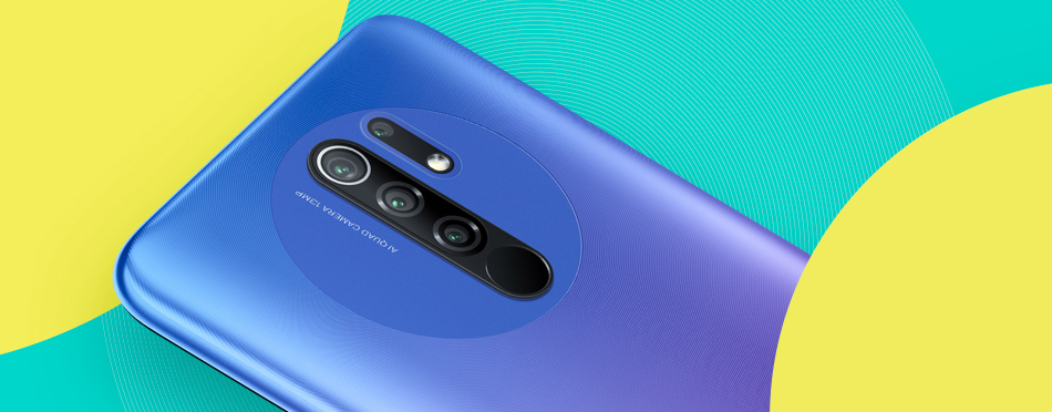 Redmi 9 4+64GB Smartphone
