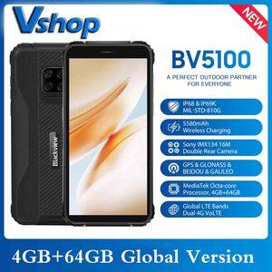 Image 1 - Blackview – Smartphone BV5100, Version globale, 4 go + 64 go, étanchéité IP68, téléphone robuste, 5580mAh, 5.7 pouces, Android 10, NFC, 16mp