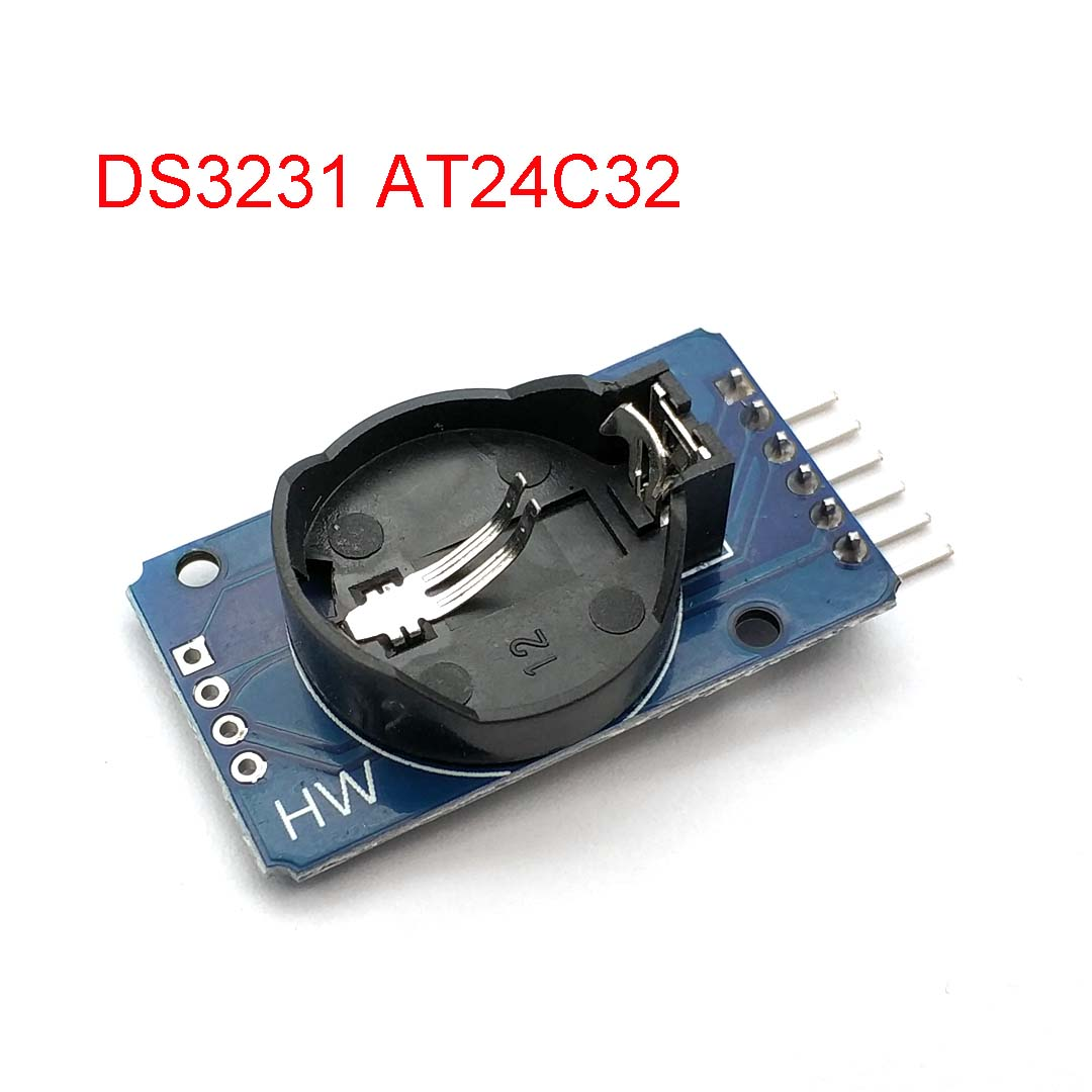 DS3231 AT24C32 IIC Precision RTC <font><b>Real</b></font> Time <font><b>Clock</b></font> Speicher Modul für Arduino Neue Original image