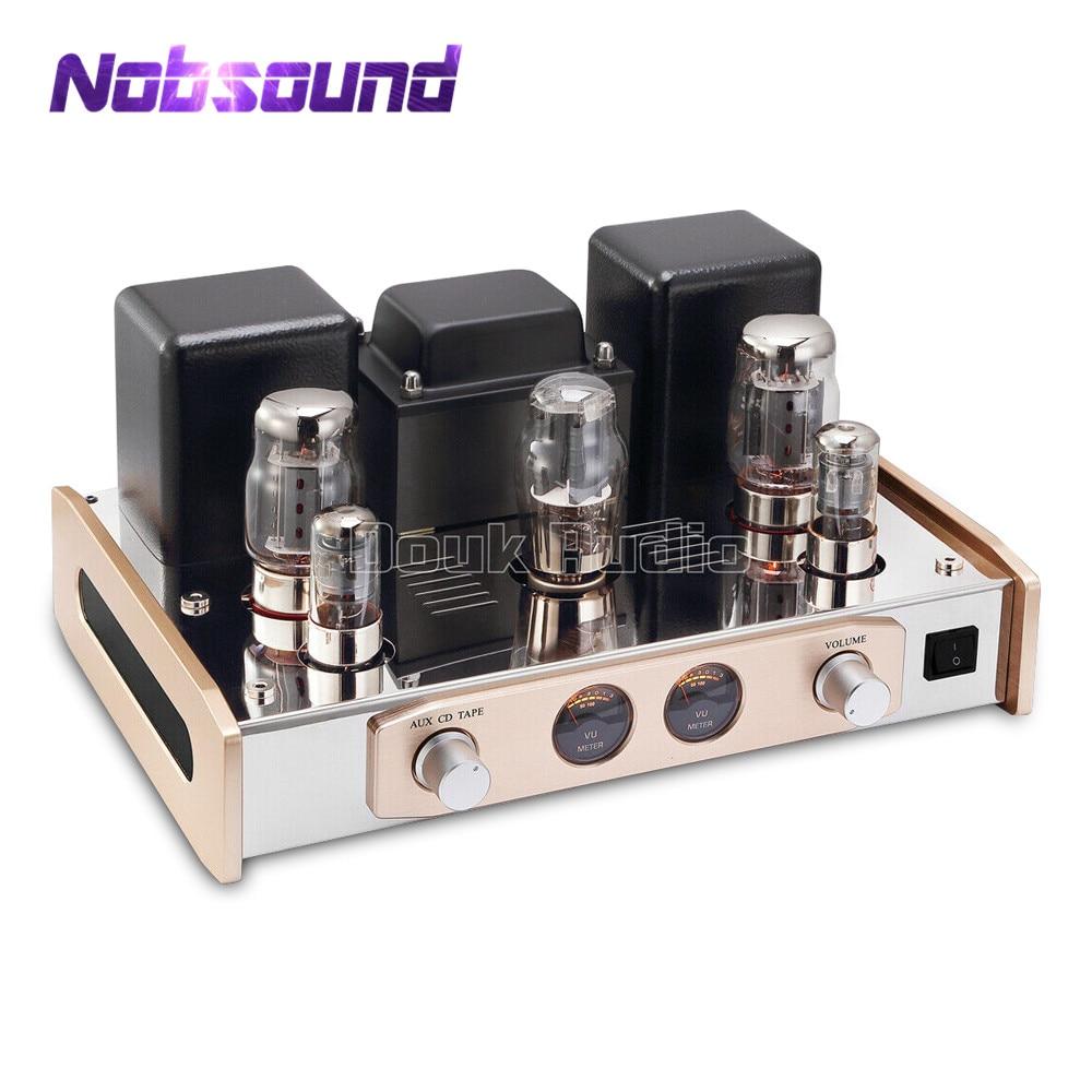 2019 Nobsound Hi End KT88 Valve Tube Versterker Stereo Single Ended HiFi Audio Power Amp 18W * 2-in Versterker van Consumentenelektronica op  Groep 1