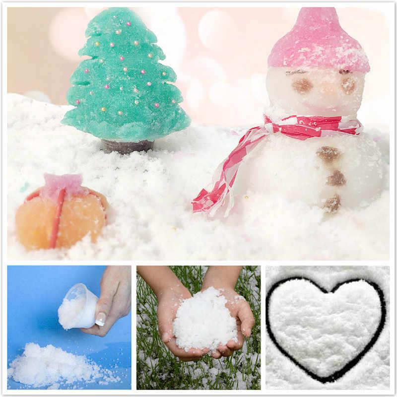 Um boneco de neve para crianças, brinquedo educativo de algodão, antiestresse, presentes de plástico, 1 peça
