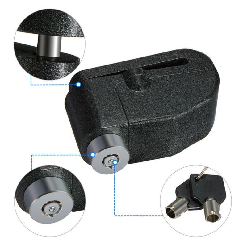 Motorcycle Bike Alarm Security Brake Disc Wheel...