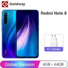 Global Version Xiaomi Redmi Note 8 4GB 64GB Smartphone Snapdragon 665 Octa Core 48MP Quad Rear Camera 4000mAh 6.3″ FHD+ Screen