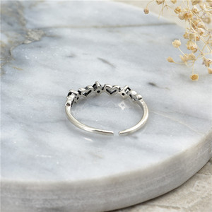 Image 5 - 2019 חם חדש סגנון 925 כסף סטרלינג stackable המפלגה טבעת דוגמניות מקורי מעודן תכשיטי מתנת תכשיטים