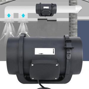 Image 5 - Ventilation Fan Blower 6.3in EC Motor Ventilation Exhaust Fan Duct Fan Intelligent Controller 470 CFM AC100 240V Bladblazer