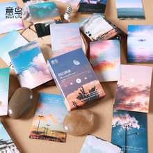 30 Pcs Romantic Cloud Scenery Stationery Stickers Decorative Album DIY Diary Scrapbooking Sticker pack Planner Diary Stick Label
