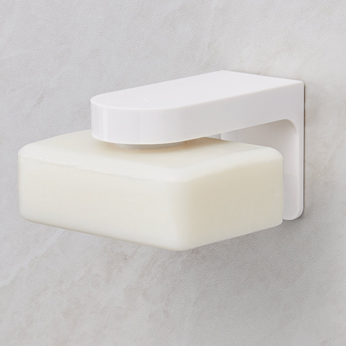 happy life HL - 011 Magnetic Soap Holder Powerful Suction Cup Wall-mounted Box from Xiaomi youpin image