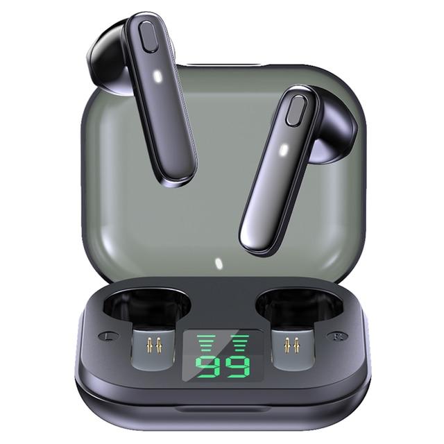 R20 TWS Earphone Bluetooth-compatible Wireless Headset Deep Bass Earbuds True Wireless Stereo Headphone With Mic Sport Earphone 1