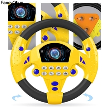 Toy Steering-Toy Wheel Simulation Sounding Early-Education Children's Small Gift Copilots