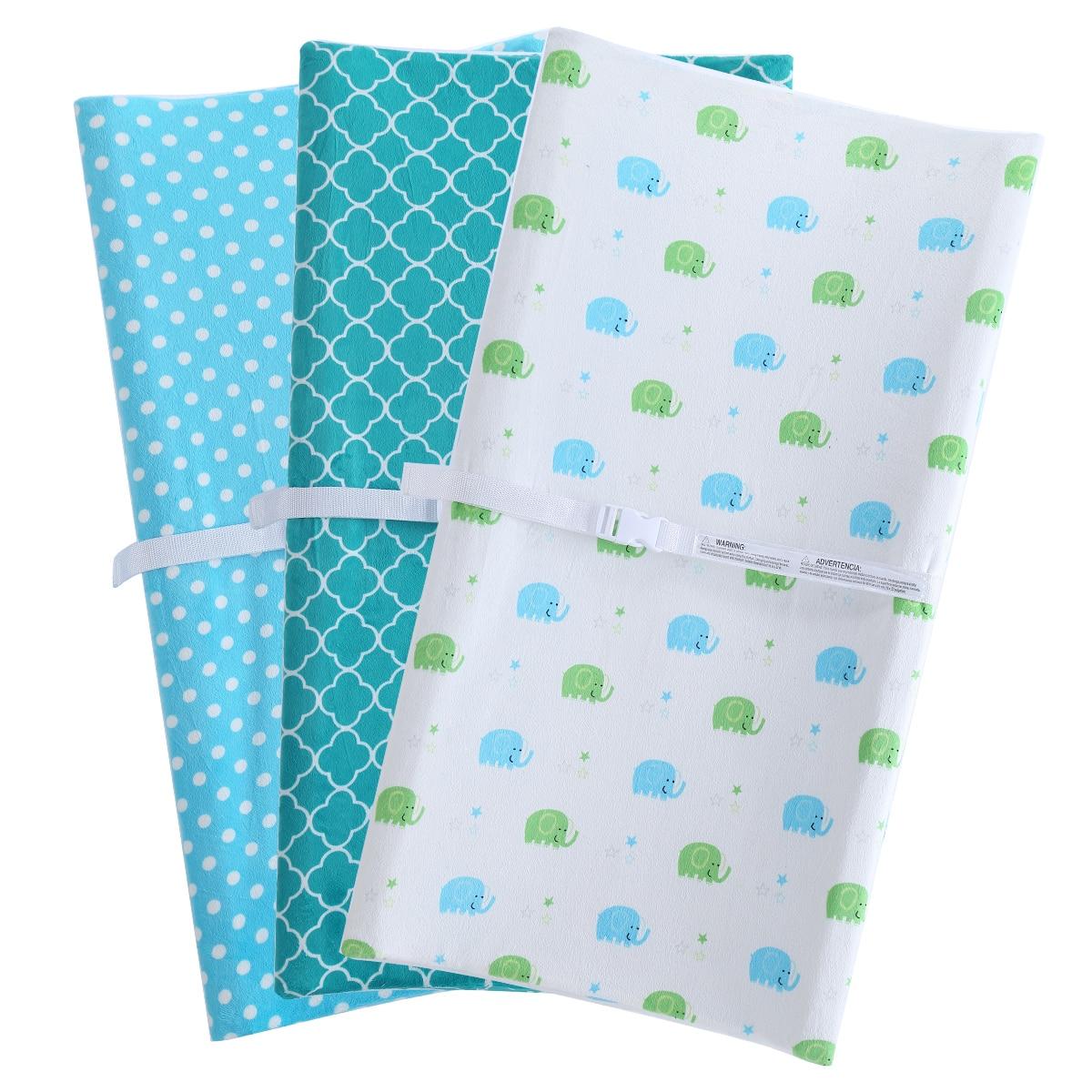 New Baby Change Mat Newborn Waterproof Urine Pad Cartoon Breathable Diaper Pad