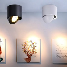 Surface Mounted Indoor 15W/9W/7W/5W LED COB Downlight 360 Degree Rotating LED Spot Light LED Light Rotatable Aluminum