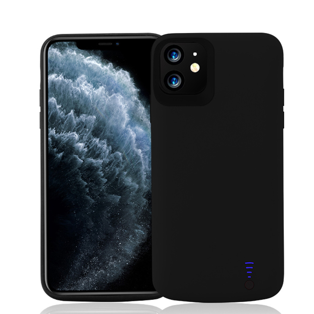 Extended Battery 6000 Mah Case Phone Charging Cover For Iphone 11 6.1 Inch Mobile Phone Cases & Covers 2019 (US STOCK)