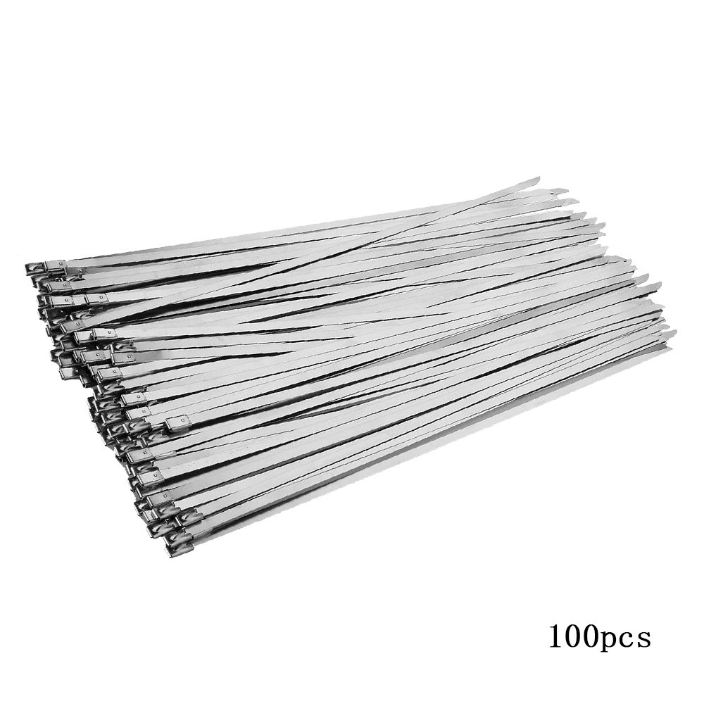 100-pack Stainless Steel 12