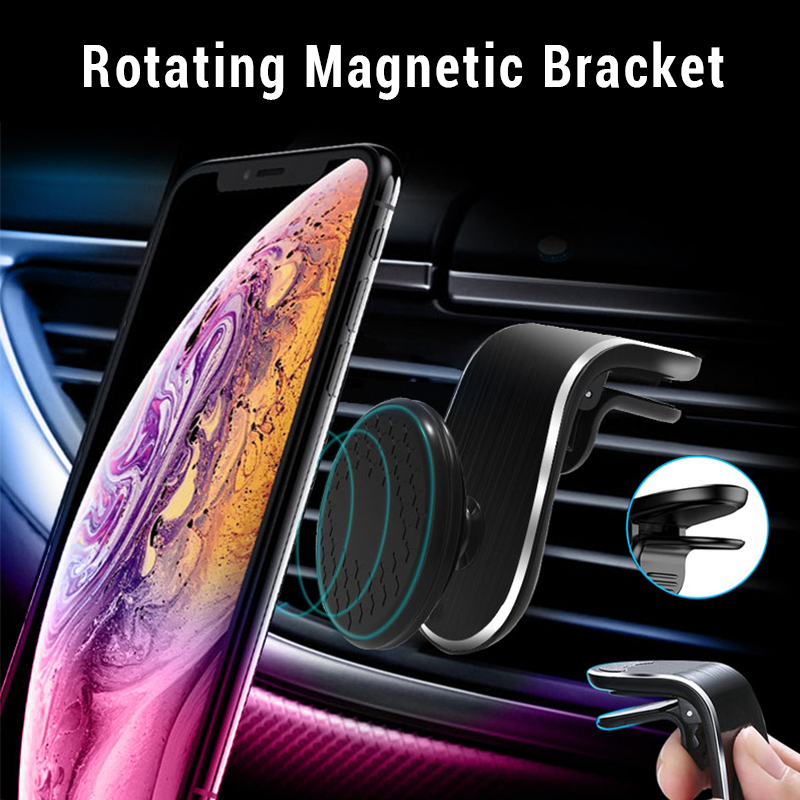 New Arrival Magnetic Car Phone Holder For Phone In Car Air Vent Mount Clip Magnet Mobile Phone Holder Support For IPhone Samsung