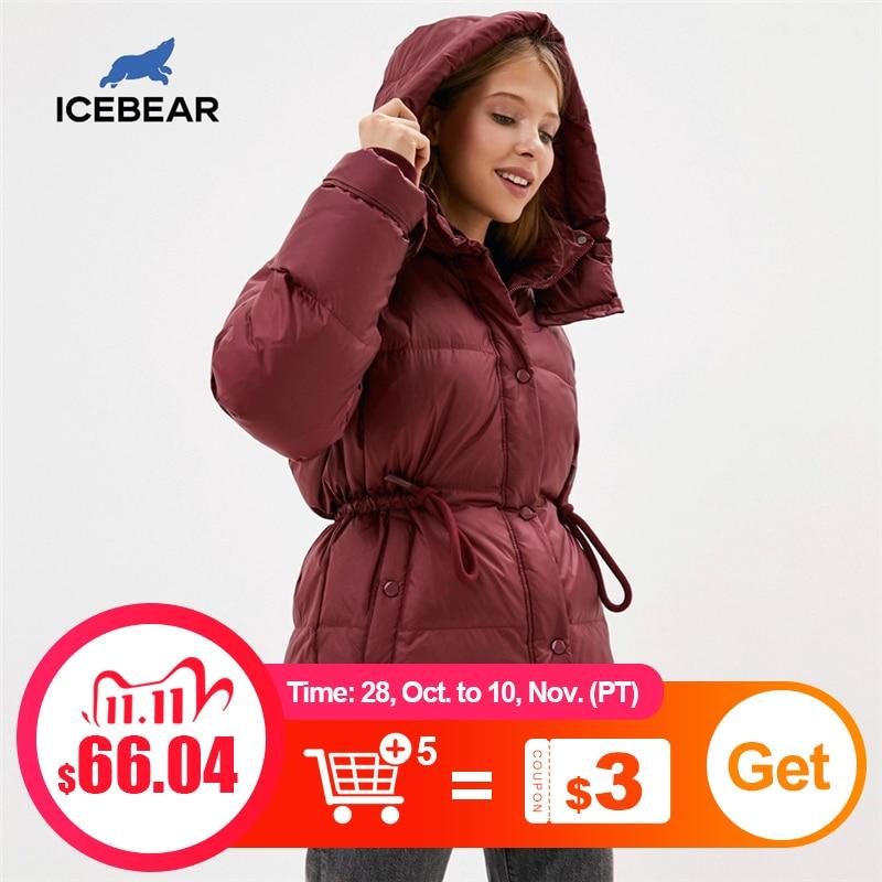 icebear 2020 женские куртки женские легкие пуховики повседневные и модные короткие женские пальто GWY20252I|Пуховики| | АлиЭкспресс