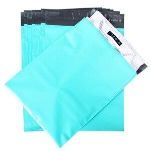 Image 3 - Speedy Mailers 10x13 pulgadas 100 Uds verde Poly Mailer colorido Poly Mailer bolsas auto sellado plástico embalaje sobres bolsas