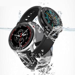 Image 2 - מלא מגע חכם שעון גברים נשים ספורט שעון קצב לב צג Smartwatch עבור IOS אנדרואיד טלפון PK S10