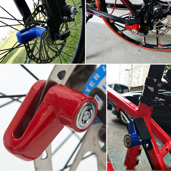Anti theft Disk Disc Brake Rotor Lock For Scooter Bike Bicycle Motorcycle SafetyLock Safety