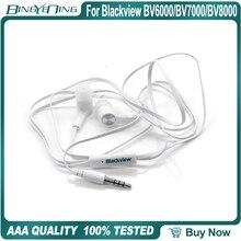 אוזניות אוזניות עבור Blackview BV6000/BV7000/BV8000 פרו אוזניות ב אוזן עם מיקרופון 3.5MM