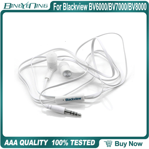 Image 1 - Earphones Headsets For Blackview BV6000/BV7000/BV8000 Pro Earphone In ear with Microphone 3.5MM