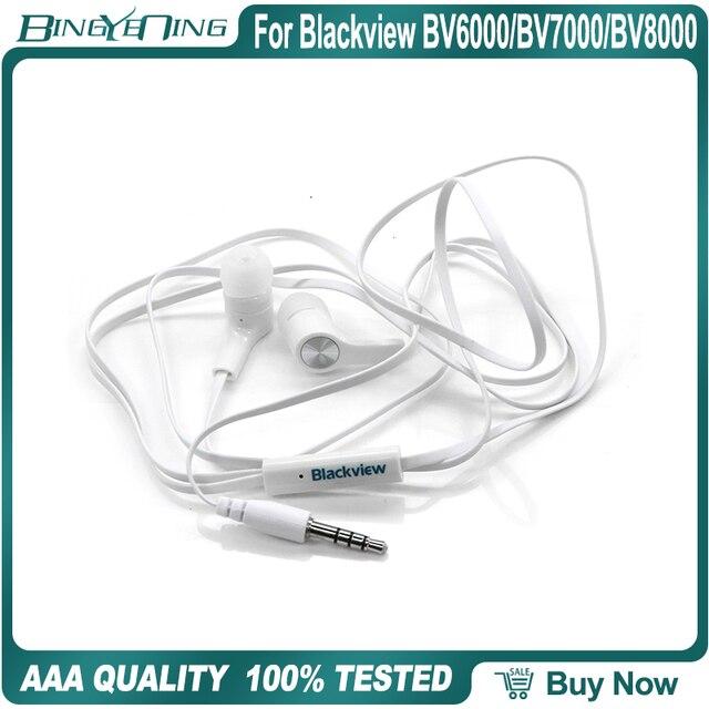 Earphones Headsets For Blackview BV6000/BV7000/BV8000 Pro Earphone In ear with Microphone 3.5MM