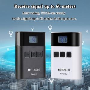 Image 5 - Беспроводная система туристического гида RETEKESS TT122, 1 передатчик + 10 приемников для церковной фабрики, тренировочный туристический гид, правительственная встреча