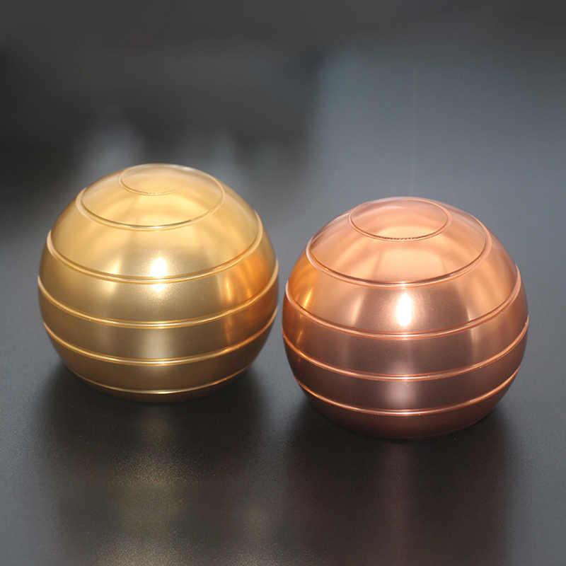 Mini 30MM Gyro Billiards Dynamic Metal Finger Ball Decompression To Toys O3M8