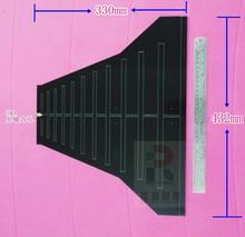1 шт. широкополосная, Широкополосная Антенна EMC EMI, направленная антенна 290 м 1,1 г, исправление электромагнитных помех