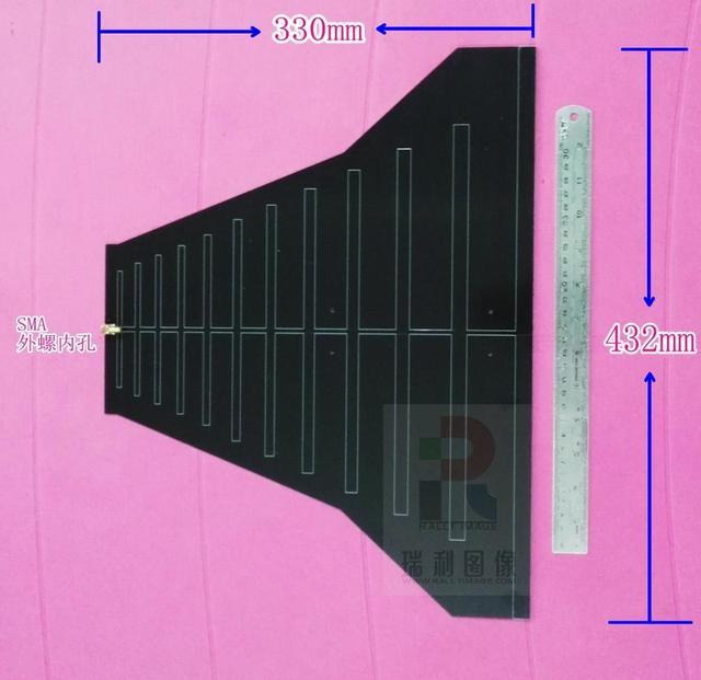 1PC ブロードバンド、広帯域アンテナ EMC EMI 指向性アンテナ 290 M 1.1 グラム EMI 整流