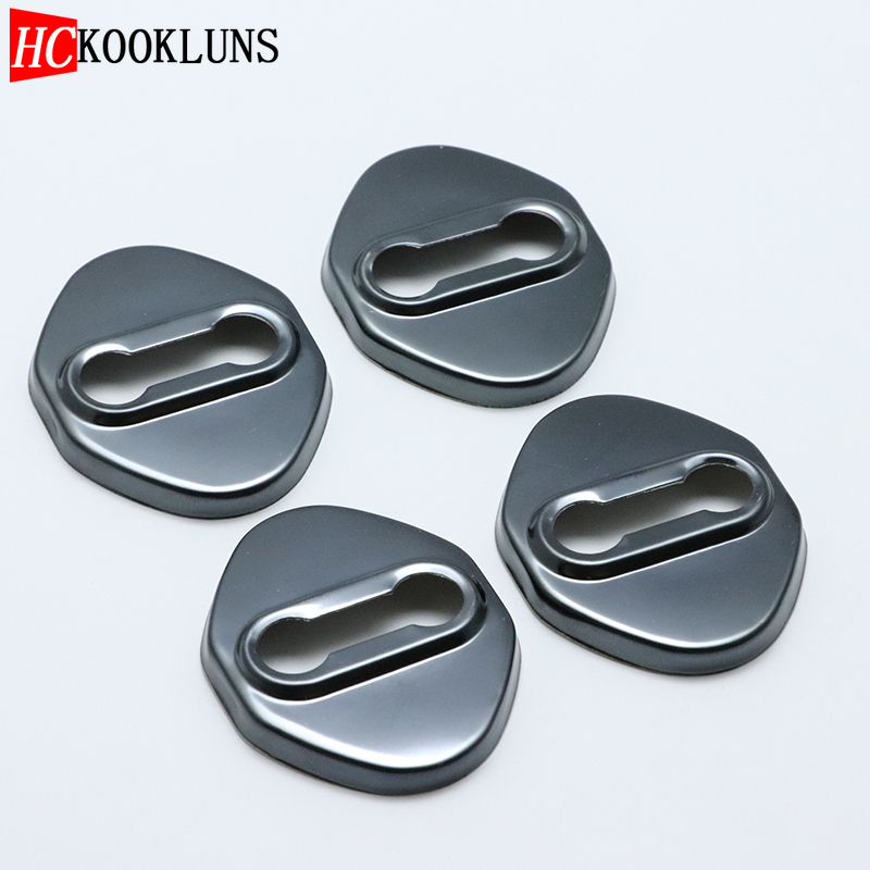 4PCS Stainless Steel Door Lock Buckle Protective Cover Auto Case For <font><b>mazda</b></font> <font><b>6</b></font> mazda6 Atenza <font><b>MPS</b></font> Car Styling image
