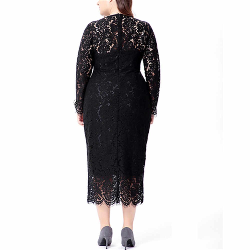 Кружевное платье размера плюс, женские платья большого размера, модные открытые вечерние платья, элегантные винтажные Вечерние Платья 5xl 6xl, свадебные платья