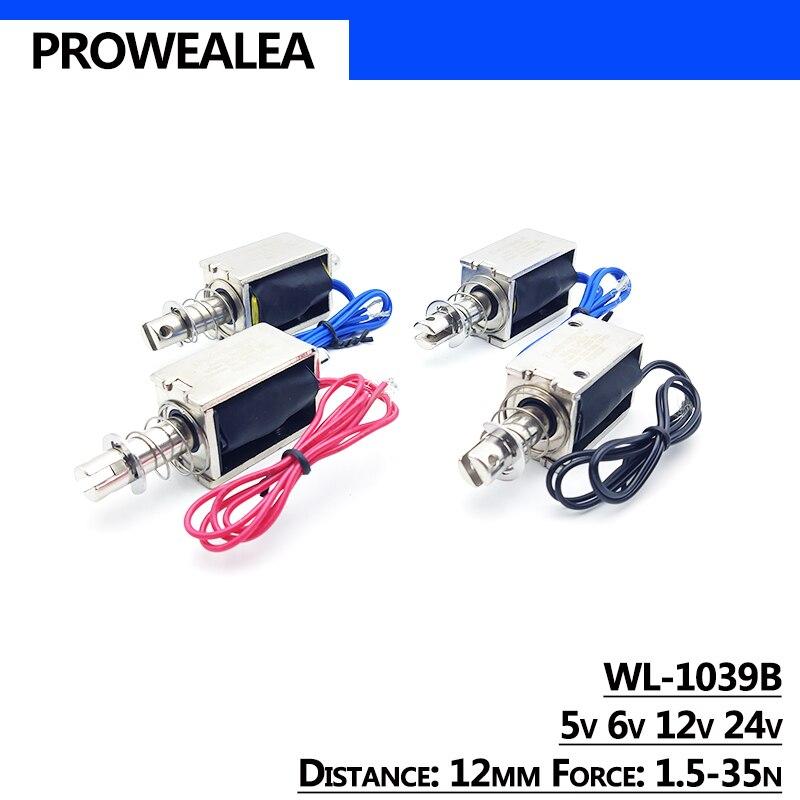 Купить электромагнитный электромагнит pull type wl 1039b 5v 6v 12v