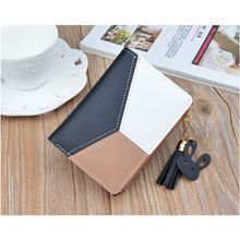 Women Zipper RFID Wallet Fashion Lady Solid Coin Pocket Small Wallet Purse Clutch Bag /BY