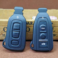 DAKATU 3 Buttons Smart Prox Remote Key Shell For Lexus LS430 2002 2003 2004 2005 2006 with Uncut Blade