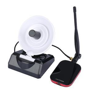 Image 1 - High Power Internet Long Range 300Mbps Draadloze Usb Wifi Adapter Met 12dBi Antenne