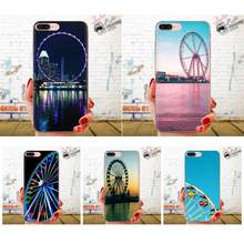 Soft TPU Custom Design สำหรับ Galaxy Grand A3 A5 A7 A8 A9 A9S On5 On7 Plus Pro Star 2015 2016 2017 2018 Ferris ล้อ(China)
