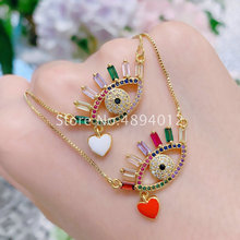 Women Pendant Necklace, 10pcs or 20pcs,Fashion Jewelry, Pop Charms, Eyes Design,2 Colrs, Can Wholesale,