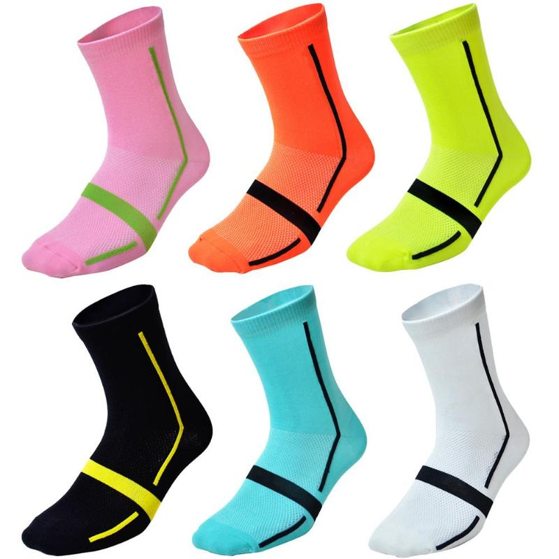 Unisex Breathable Cycling Socks Wide Scope Of Application Work Exquisite Creative Women Men Outdoor Sports Socks