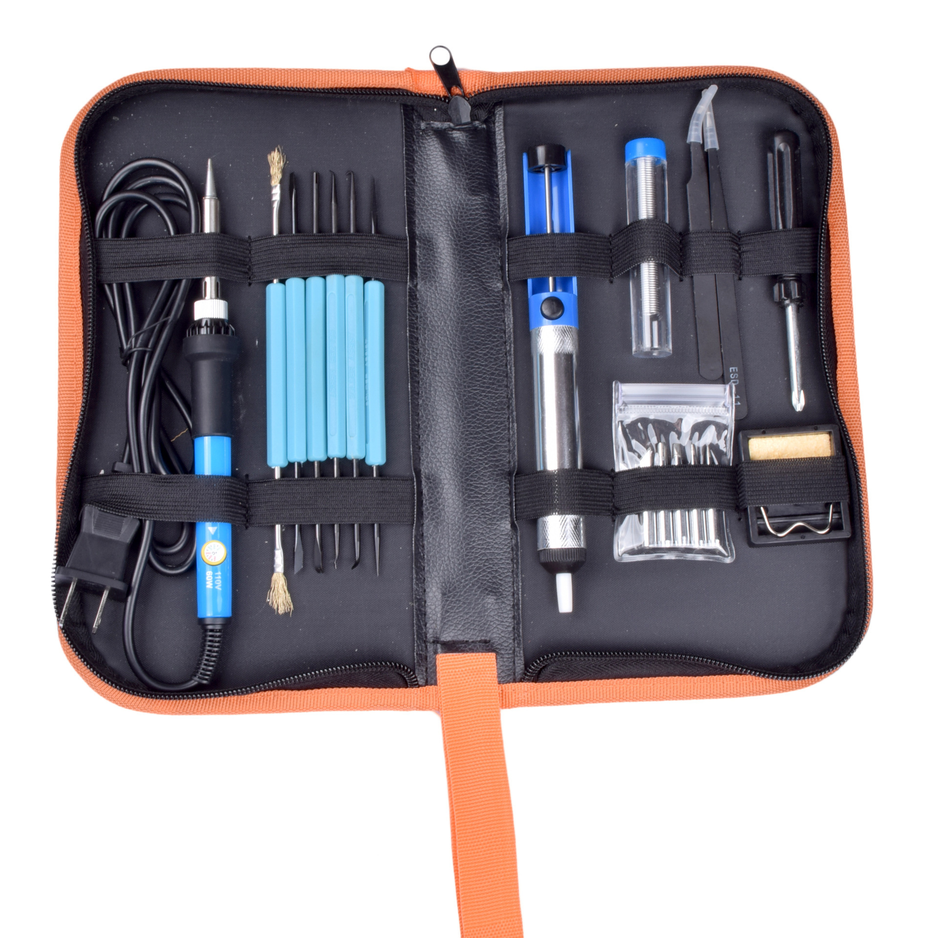 Manufacturers Direct Selling Thermostat Electric Soldering Iron 110 V/220 V Soldering Iron Set 60 W Soldering Iron Toolbox Tin S|Butt Welders| |  - title=