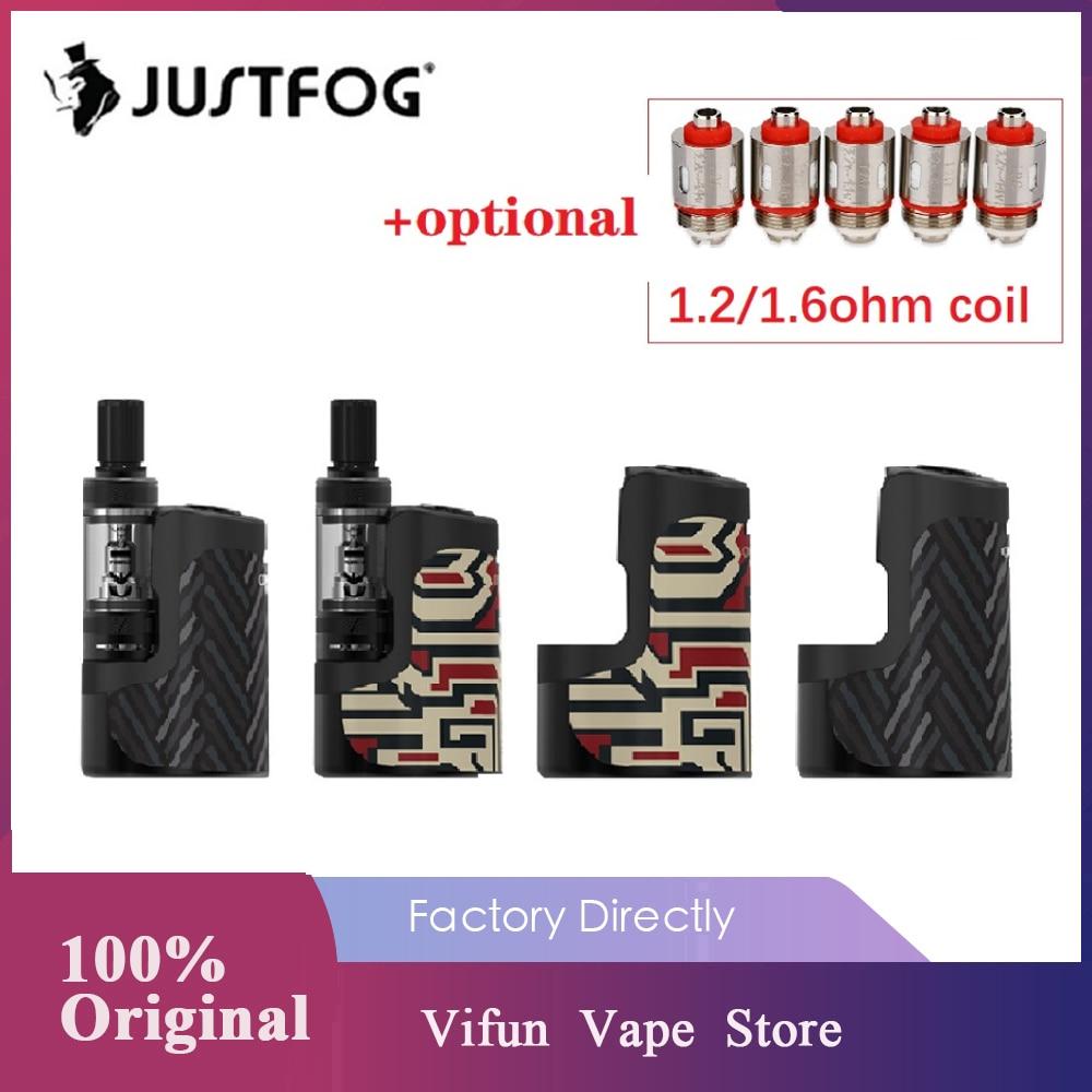 Original JUSTFOG Compact 16 Kit With 1400mAh Battery & 1.9ml Atomizer 3 Levels Variable Voltage Vape Kit Vs Justfog Q16/ Vinci X