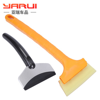 Automotive stainless steel Oxford snow brush artifact winter scraper shovel tool glass defrost