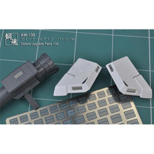 Metal Fotoğraf Etch Ekle Kapak AW130/AW131/AW132 MG 1/100 HG Gundam Modeli Detay Yükseltme Parçaları