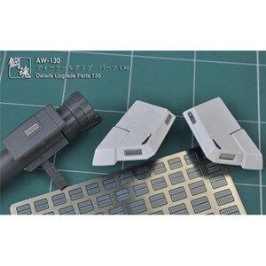Image 1 - Metal Fotoğraf Etch Ekle Kapak AW130/AW131/AW132 MG 1/100 HG Gundam Modeli Detay Yükseltme Parçaları