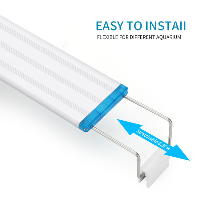 Super Slim Adjustable LED Fish Tank Lighting 2