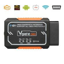 Vgate Elm327 V1.5 WIFI OBD2 Diagnostic  Scanner For Android/IOS/PC Elm327 Bluetooth OBD 2 Auto Diagnostic Tools Chip PIC18F2480