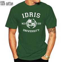 Idris university shadowhunters t camisa homem lightwood 13 herondale 91 lightwood 89 impressão curto t eua mais tamanho s 3xl preto