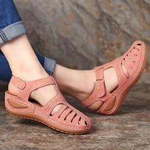 44-Heels Sandals Chaussure Platform-Shoes Wedges Talon Gladiator Femme Plus-Size Casual