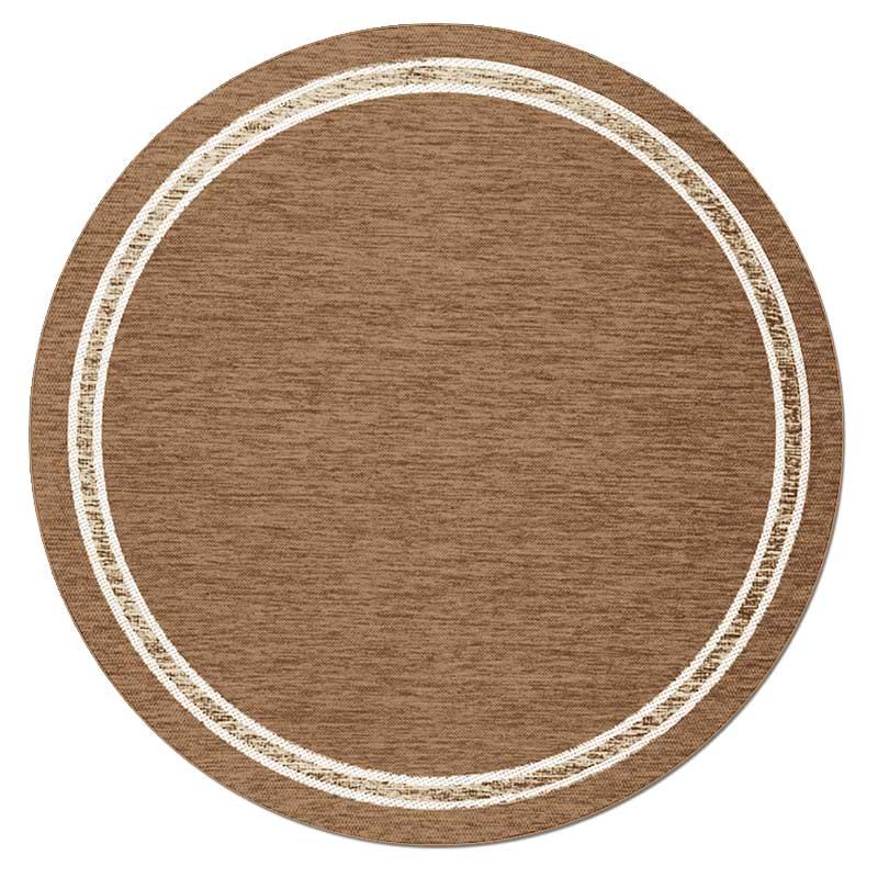 Скандинавский современный ковер гостиная круглый ковер простые одноцветные Коврики Спальня прикроватный коврик домашний стул для прихожей круглый коврик игровой коврик - Цвет: 2
