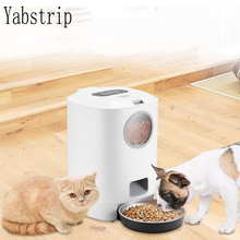 High capacity NEW 4.5L Pet Feeder Food Container Smart Automatic Pet Dog Cat Food Feeder Bowl Fast Shipping